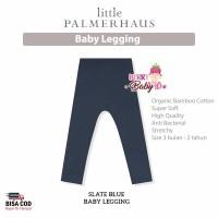 Little Palmerhaus Baby Legging Celana Panjang Bayi Katun Premium Slate