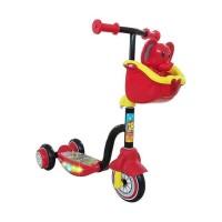 scooter anak roda tiga PMB S03 BiruKuning HitamMerah