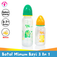YOUNG YOUNG Botol Susu Set IL-1103 Baby Gift 3 In 1 BPA Free Random