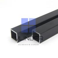 Hollow Aluminium Powder Coated 19 x 19 mm, t. 1.2 mm