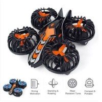 Mainan Mobil Pesawat Four-Axis / Mainan Mobil Anak Warna Black Orange