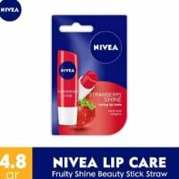 Promo Akhir Tahun ! Nivea Lip Care Fruity Shine Stick Strawberry Kode