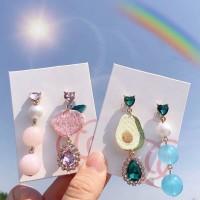 Anting korea avocado / peach earring