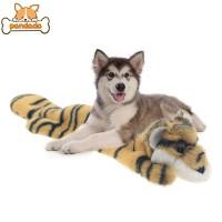 Mainan Kunyah Bentuk Boneka Plush Hewan Anti Gigit untuk Anjing