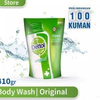 Sabun Mandi Dettol / Sabun Cair Dettol Body Wash Pouch 410gr / 410 gr