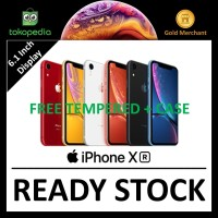 [DUAL SIM]Apple iPhone XR 64GB Black/Blue/Coral/Red/White/Yellow Nano