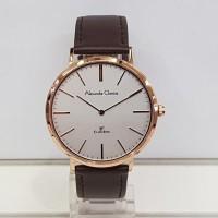 jam tangan alexandre christie ac 8625 pria rose gold original