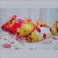 Bantal Ikan Simulasi Ikan Koi Bantal Unik Bantal Motif Ikan Size S