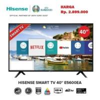 [Resmi] HiSense LED Smart TV 40 inch FHD 1080p Netflix Youtube E5600EA