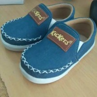 Sepatu Anak Kickers Slip on Jeans 1 2 3 4 5 tahun