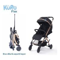 JNE JNT Stroller Baby KURU Flex - Kereta Dorong Bayi Travel Size Kabin