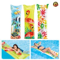 Matras Pelampung Renang Intex Inflatable Tropical Mat