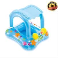 pelampung renang anak kanopi cegah UV kiddie float Intex 56581
