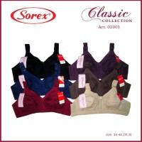 Classic Bra Sorex 02001 - Bra Model Sister Tanpa Kawat Tanpa Busa Sore