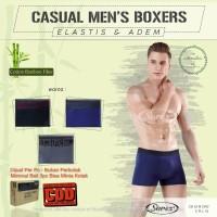 CD Cowok Sorex Man Katun Bamboo Model Boxer M2012