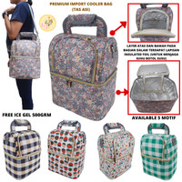 Premium Cooler Bag Tas ASI Sansa Lunch Bag Insulated Bag Import