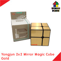 Rubik Mirror 2x2 Yongjun Magic Cube GOLD / YJ8365GLD