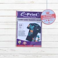 Kertas Print Buat Sablon Kaos Transfer Paper Dark T-Shirt A4