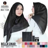 Hijab Jilbab Segi Empat Glowing Bella Sinar Umama Azara Adeva Termurah