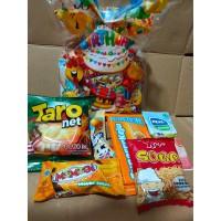 Souvenir / Bingkisan Ulang Tahun / Goodie bag Snack / Ultah / Paket