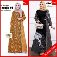 Gamis syari Baju gamis wanita terbaru Best Seller batik wanita modern