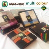 Sarung Gajah Duduk Multi Colour Exclusive - Original Limited Edition