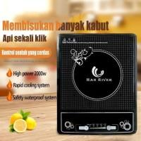 Kompor Elektrik HAN RIVER Induction Cooker Touch Screen Home Energy