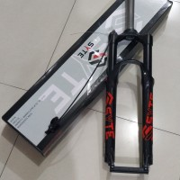 Garpu sepeda MTB 27.5 fork SYTE with remote lock travel 120 alloy