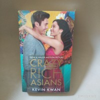 Kevin Kwan - Crazy Rich Asians ( movie tie in novel )