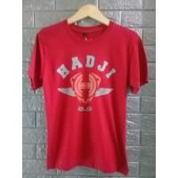 Kaos T-Shirt Hadji Red Clothing Distro Paling Laku