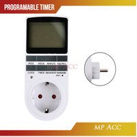 Stop Kontak Digital Timer Switch Programmable Timing