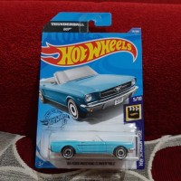 Hotwheels 65 Ford Mustang Convertible 007 Lot C 2020
