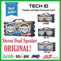 Speaker Portable Javi Karaoke Bluetooth Speaker CB-003 Original