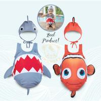 Baju renang bayi anak IMUNDEX / Baby Swimwear IMUNDEX Shark / Nemo - Baby Shark, 2-3 tahun