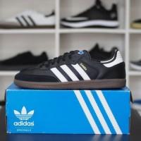 Sepatu Adidas Samba OG Original Resmi Black White Gum