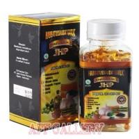 Habbatussauda Garlic 5in 1 JHP isi 120 kapsul/kolesterol/stroke/tensi