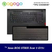 Keyboard Protector ROG STRIX SCAR III G731 G731GT G731GU G731GV Cooski
