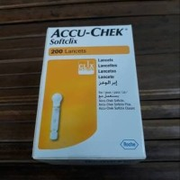 Super Sale - jarum lancet softclik accu check isi 200 SScx3309