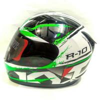HELM KYT R10 #2-white/black /green