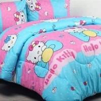 Sprei & Bedcover Katun 160x200x30 - Hello Kitty Lovely