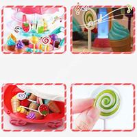Mainan Anak - Mini Sweet Cart Gerobak Ice Cream Store Play Set