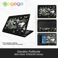 Garskin Laptop Sticker Laptop Msi GS65-8RE GS65-8RF 8SE 8SG Fullbody