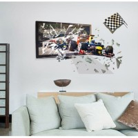 Frame F1 Racing SK9219 - Stiker Dinding / Wall Sticker