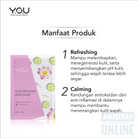 You Skin Matte Face Mask Lotus & Cucumbar