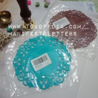 Rubber Coaster Doilies Style for Wax Sealing Stamp Pad