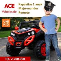 UNIKID Mobil Mainan Aki JEEP 720 UK penumpang 1 anak Setir dan Remote