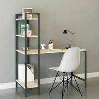 meja paten meja belajar industrial modern lb 40cm khusus PO n grossir