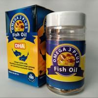 minyak ikan / fish oil omega 3 plus DHA