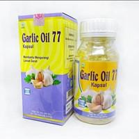 Garlic oil 77/minyak bawang putih penurun kolesterol 100kapsul