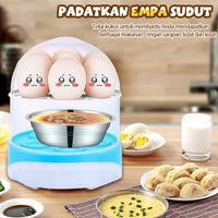 Alat Kukus Telur HAN RIVER- Egg Boiler Cooker - Steamer Botol Bayi